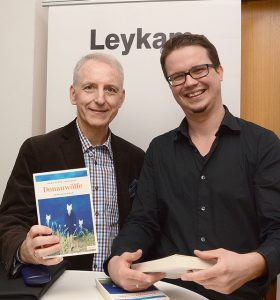 Hans-Peter Vertacnik & Harald Strasser, Geschäftsführer Leykam Leoben (v.l.).